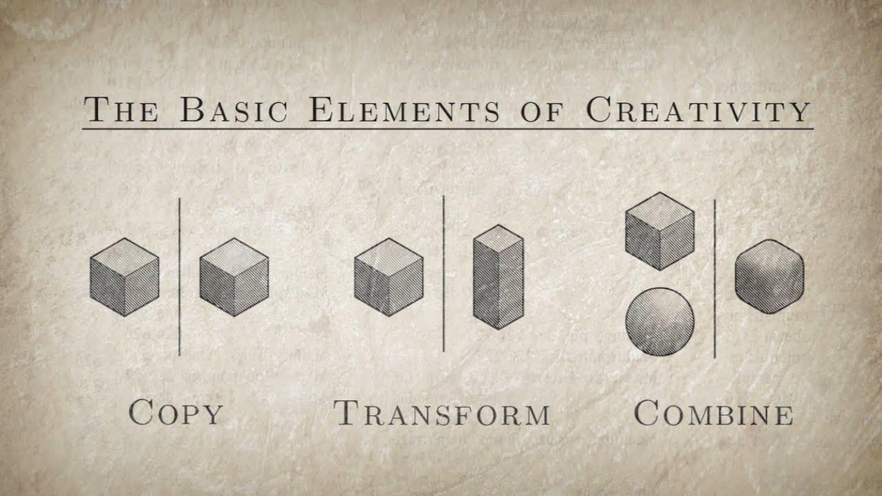 Creativity is a Remix