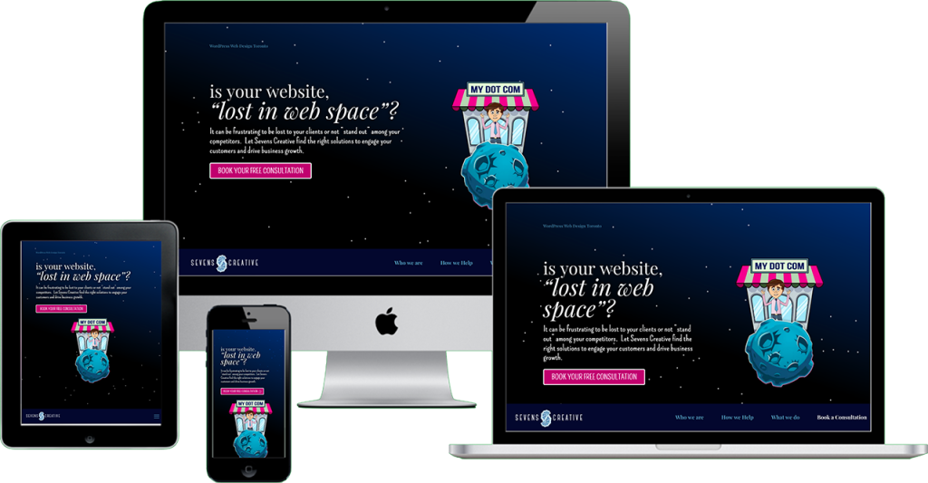 Responsive Web Design by Sevens Creative